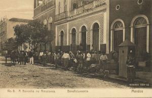 brazil, MANAOS, A Borracha no Amazonas, Beneficiamento (1905) Huebner & Amaral 8