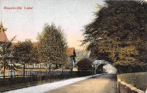 United Kingdom, Great Britain, England Bournville Lane  Bournville Lane