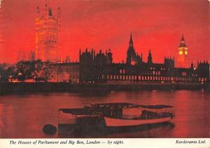 The Houses of Parliament and Big Ben, London by Night