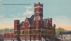 MENOMINEE, Michigan, 1900-1910s; Presbyterian Church