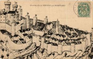 CPA Ancienne Ville de Serviére prés Noirétable. (664016)