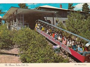 Colorado Manitou Springs Mount Manitou Incline Cable Car 1988