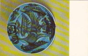 Russia Leningrad Dish Bird 1974 Museum Of The Lomonosov Porcelain Factory