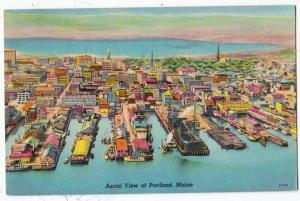 Aerial View, Portland ME