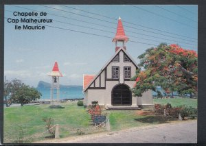 Mauritius Postcard - The Chapel of Cap Malheureux    T4174