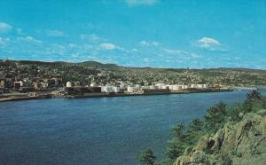City as seen from Cape St. Francois, Chicoutimi, Quebec, Canada, 40´s-60´s