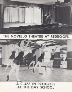 Redroofs Theatre School Maidenhead Ballet Vintage Advertising Large Photo