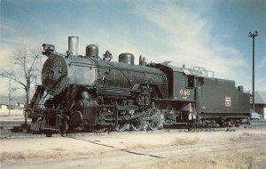 Colorado & Southern Railway #646 Cheyenne, WY Train c1960s Vintage Postcard