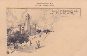 Senegal Cathedrale De Dakar Souvenir Africaine