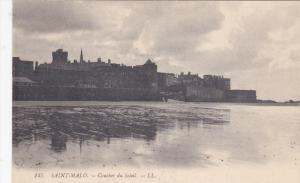 SAINT MALO, Ille Et Vilaine, France, 1900-1910's; Coucher Du Soleil