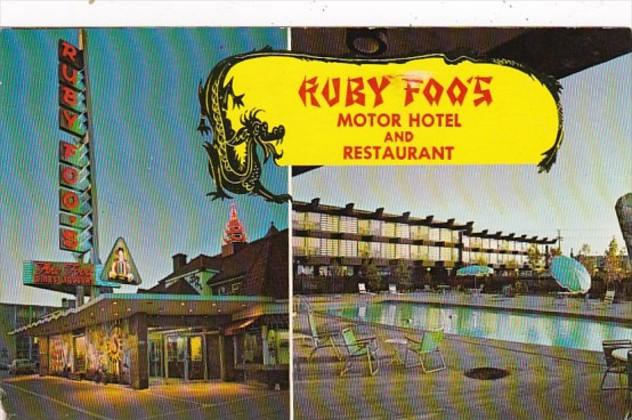 Canada Montreal Ruby Foo's Motor Hotel and Restaurant