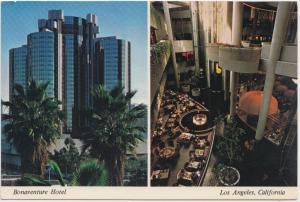 Bonaventure Hotel, Los Angeles, California, unused Postcard