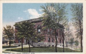 FARIBAULT, Minnesota, 1900-1910's; City Hall and Library