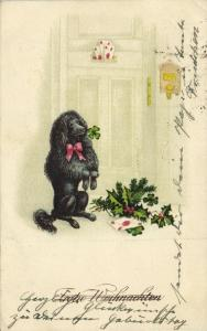 Merry Christmas, Black Poodle (1927)