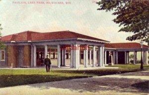PAVILION, LAKE PARK, MILWAUKEE, WI 1907 in German