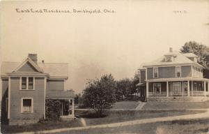 E95/ Smithfield Ohio RPPC Postcard Jefferson Co c1910 East End Residence 12