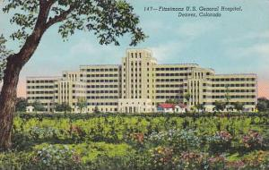 Fitzsimons U.S. General Hospital, Denver, Colorado,  30-40s