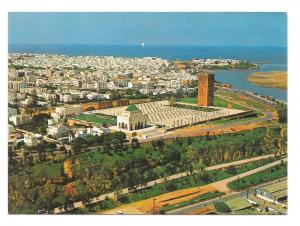 Morocco Maroc Rabat Mausolee Mohammed V Aerial View Postcard