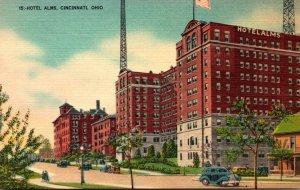 Ohio Cincinnati Hotel Alms 1953
