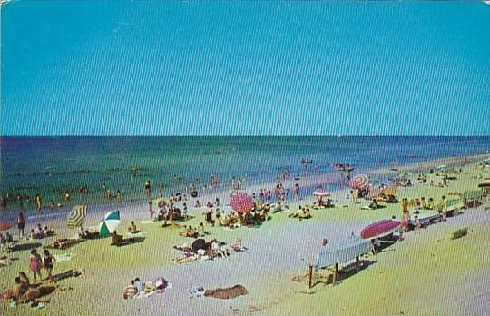 New York Long Island Typical Long Island Beach Scene