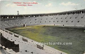 Stadium, Harvard College Cambridge, MA, USA Stadium Unused