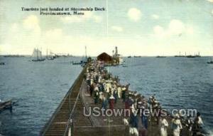 Steamship Dock Provincetown MA Unused
