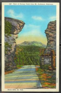South Dakota, Black Hills - Harney Peak, unused