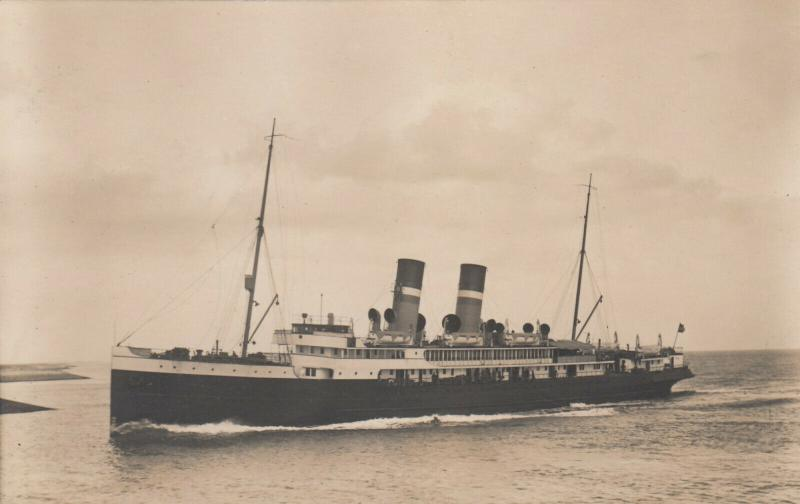 RP: VLISSINGEN, Netherlands , 1900-10s; Twin stack Steamer