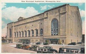 MINNEAPOLIS, Minnesota, 1900-10s;  New Municipal Auditorium