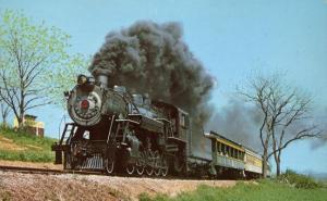 Strasburg Railroad PA, Pennsylvania - Passenger Train near Groff's Grove