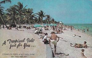 Florida Miami Crandon Park On Key Biscayne