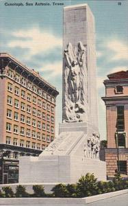 Texas San Antonio The Cenotaph 1950