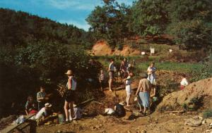 NC - Franklin. Rock Hounds at a Ruby Mine