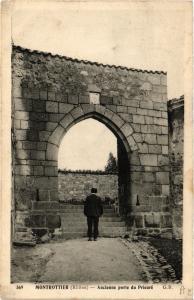 CPA  Montrottier - Ancienne Porte du Prieuré  (639740)