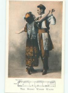 Pre-Linen PRETTY WOMAN IS DANCING THE MERRY WIDOW MASS AB7642