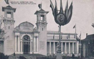 Exposition Universelle Bruxelles 1910 Pavillon des Colonies Francaises