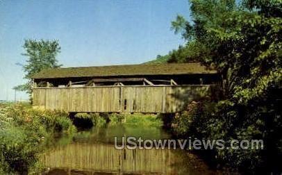 Old Covered Bridge - Williamsport, Pennsylvania
