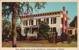 Alabama First White House Of The Confederacy Montgomery Alabama 1967