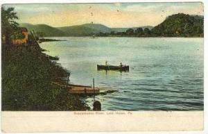 Susquehanna River, Lock Haven , Pennsylvania, PU-1909