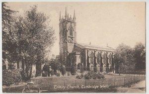 Kent; Trinity Church, Tunbridge Wells PPC, c 1910, To Miss Parris, Eastbourne