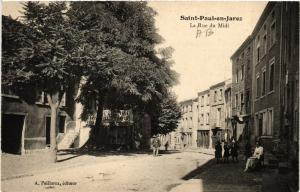 CPA St-PAUL-en-JAREZ - La Rue du Midi (580561)