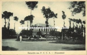 argentina, BARADERO, Estacion del F.C.C.A., Railway Station (1920s)