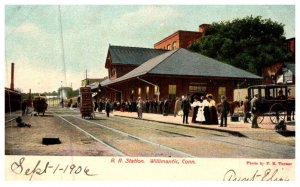 Connecticut Willimantic , Railroad Station
