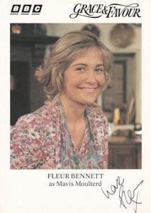 Fleur Bennet Grace & Favour Heartbeat Cracker Hand Signed Photo