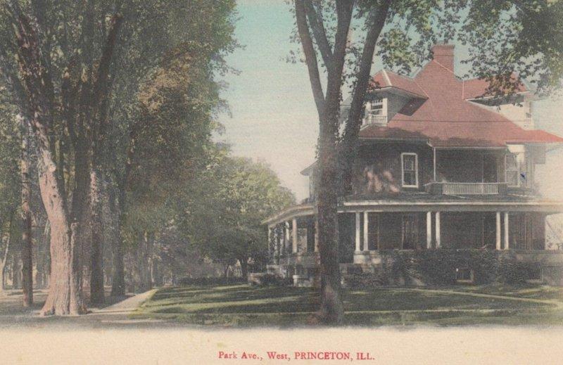 PRINCETON, Illinois, 1900-10s; Park Avenue West