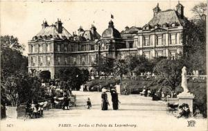 CPA Paris 6e Paris-Jardin et Palais du Luxembourg (312030)