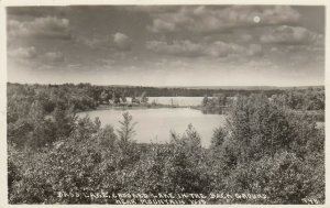 RP: MOUNTAIN , Wisconsin , 1946 ; Bass Lake