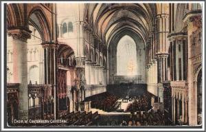 England Canterbury Cathedral Postcard