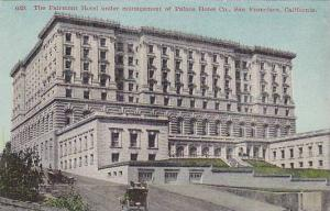 The Fairmont Hotel Under Management Of Palace Hotel Co., San Francisco, Calif...