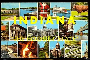 USA Indiana The Hoosier State Multi View